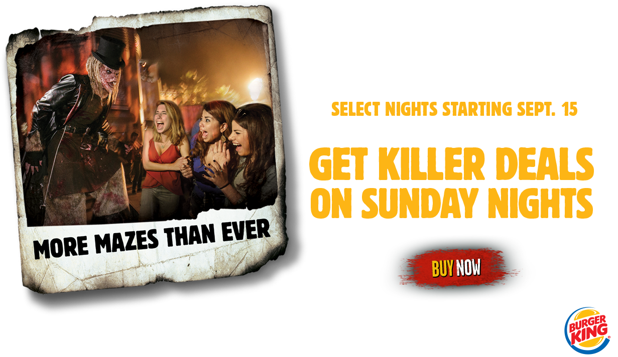 halloween horror nights at universal studios florida information
